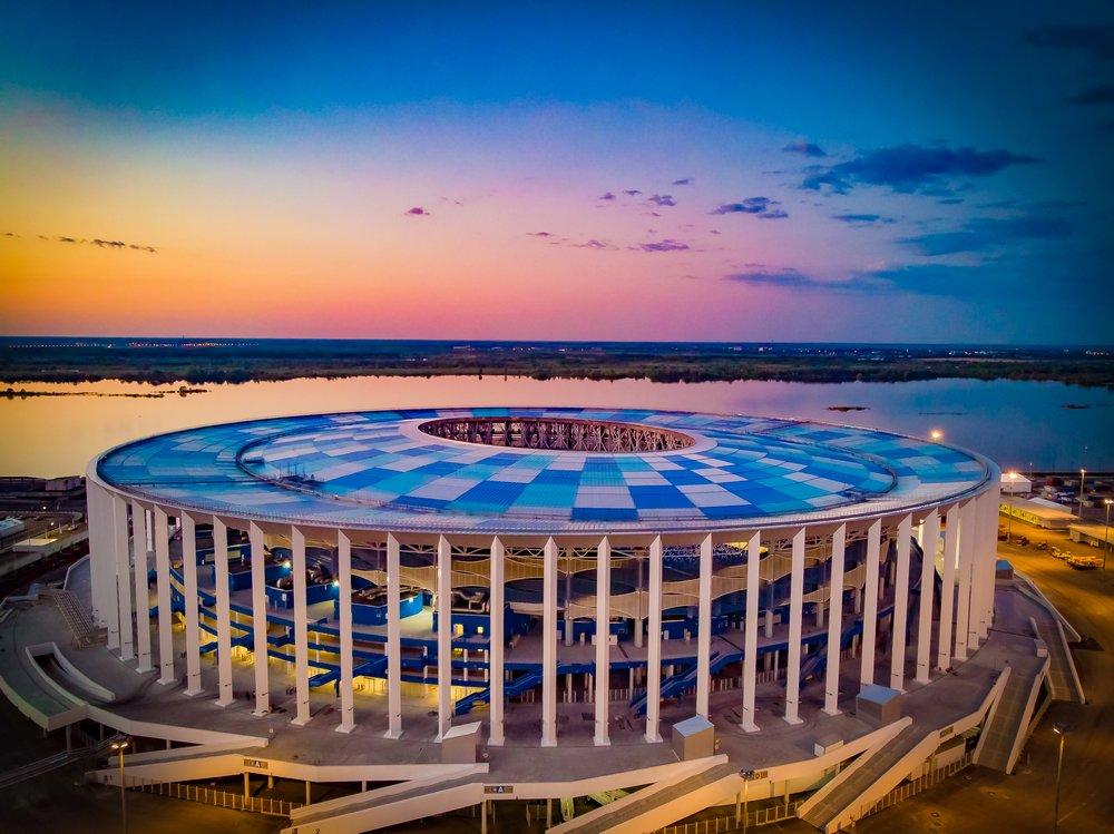 Экскурсия по стадиону Нижний Новгород