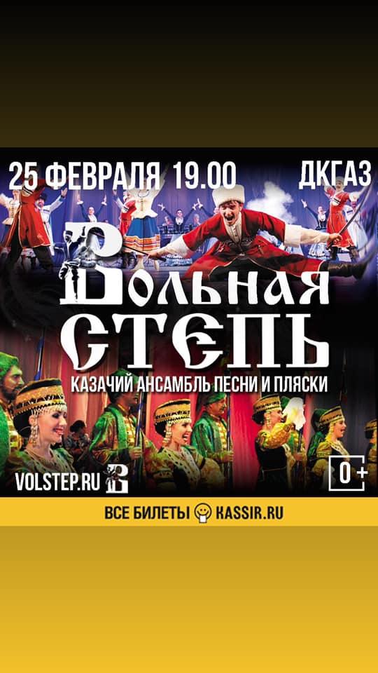 Концерт ансамбля Вольная Степь