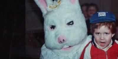 старинные фотографии пасхального кролика