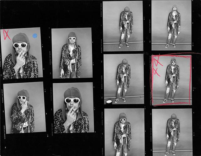 Последняя фотосессия Курта Кобейна