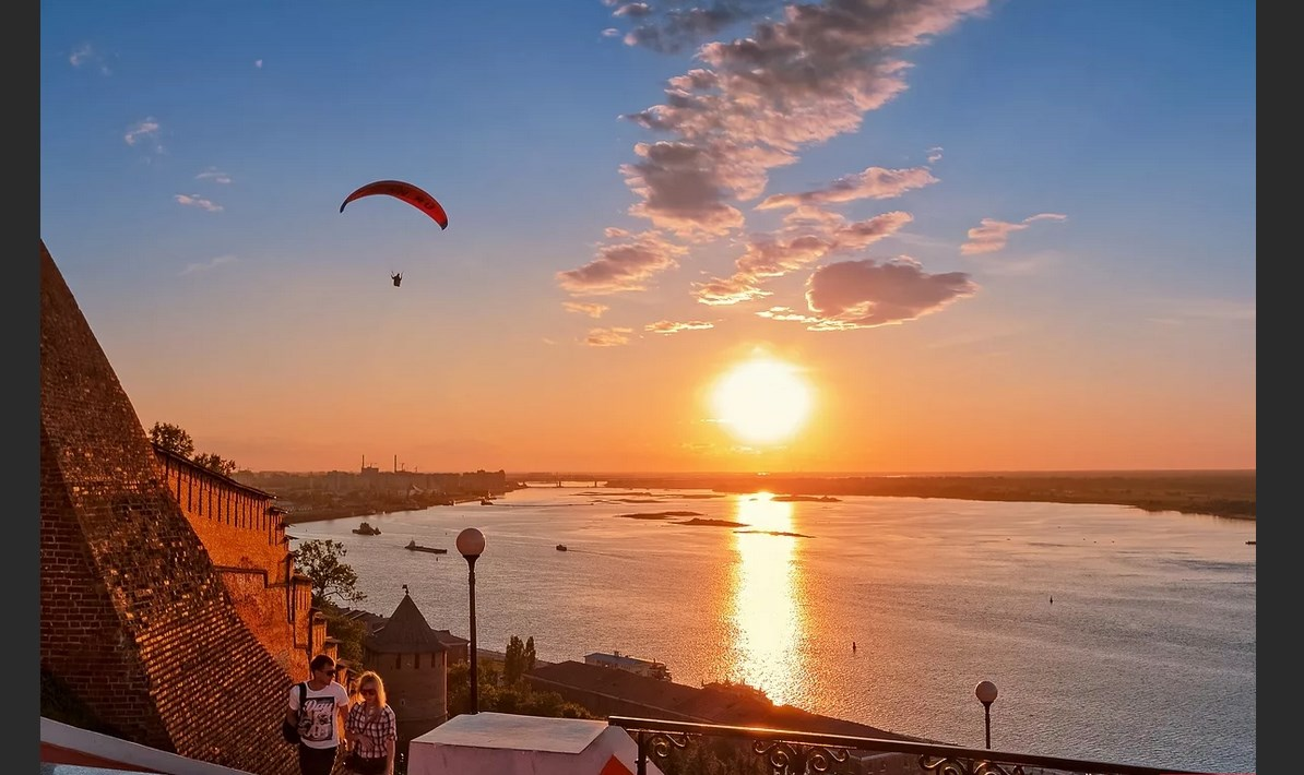 Нижний Новгород столица закатов