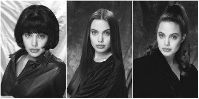 Angelina Jolie Modeling