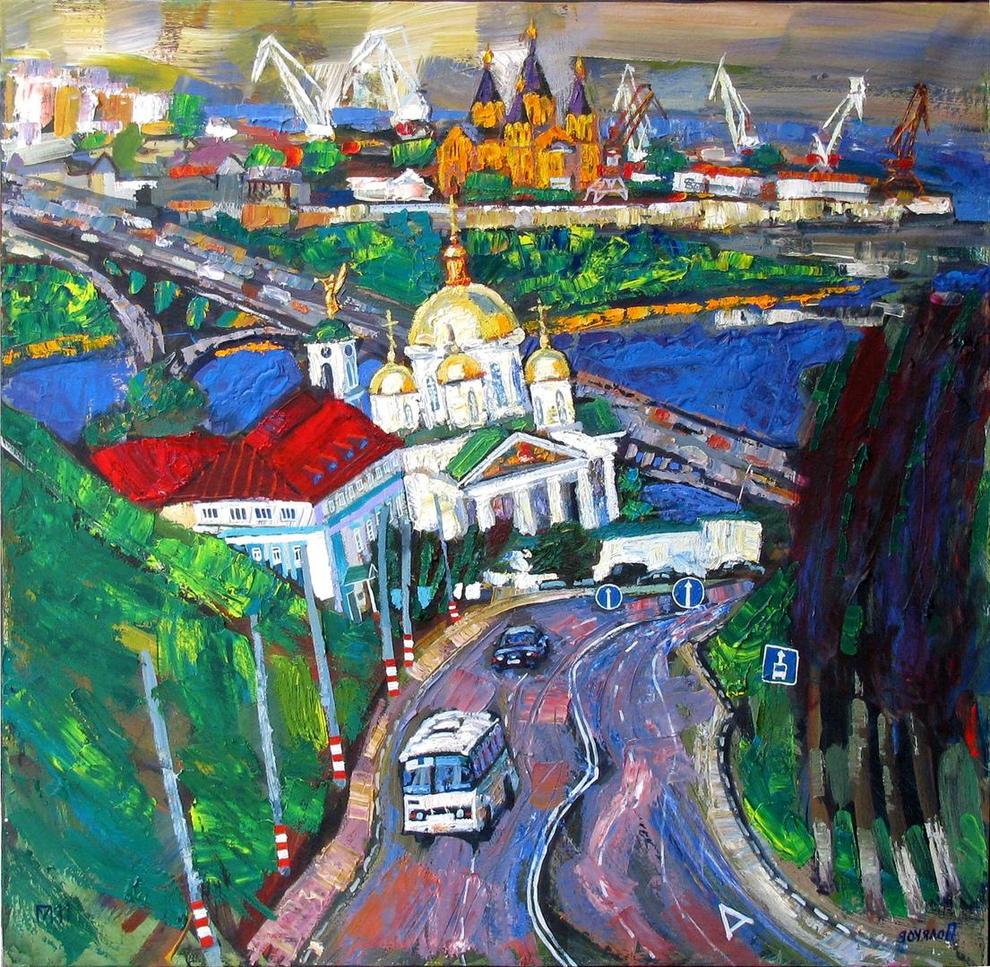 выставка нижегородского художника Михаила Полякова