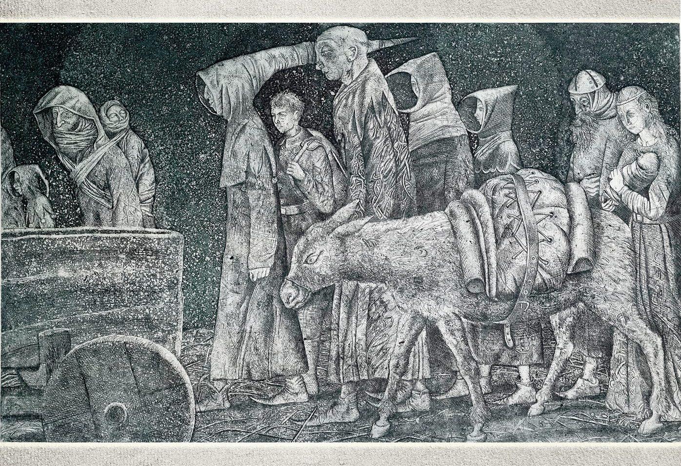 выставка Леонида Строганова