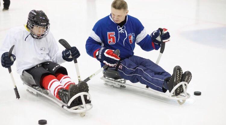набор детей с 7 до 14 лет в новую детскую следж-хоккейную команду