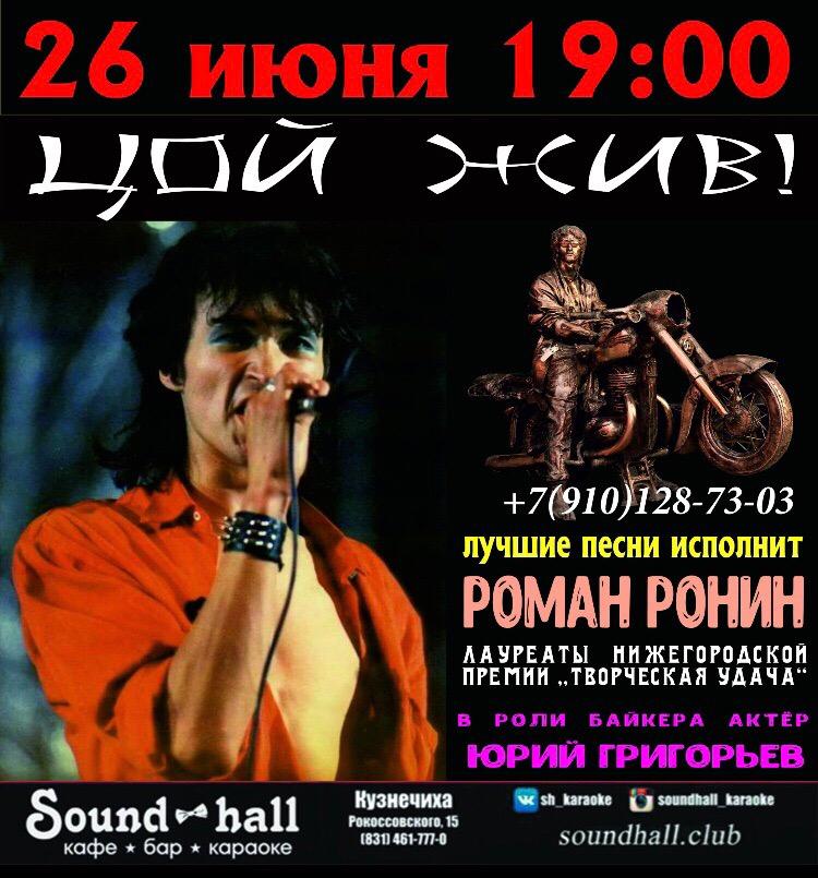 концерт Романа Роднина