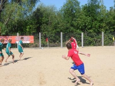 первенство Автозаводского района по пляжному футболу