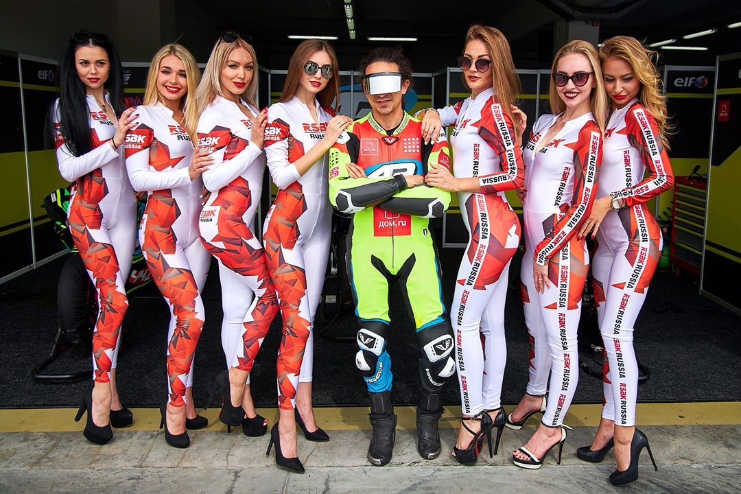 третий этап чемпионат России по мотогонкам RSBK