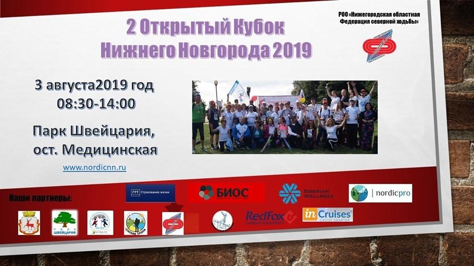 Кубок Нижнего Новгорода по северной ходьбе