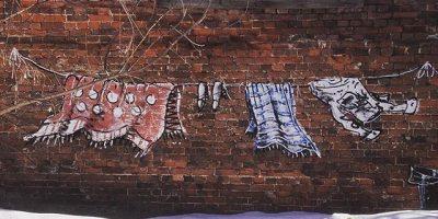 Граффити и Стрит-Арт работа от Андрея Оленева