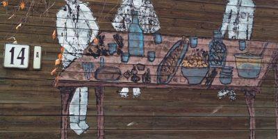 Граффити и Стрит-Арт Обед у плотников. Воскресенье