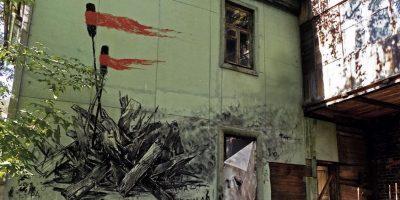 Граффити и Стрит-Арт работа Андрея Оленева