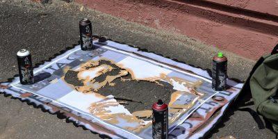Граффити и Стрит-Арт  Горький (серия работ Re:марки)