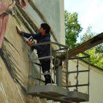 Граффити и Стрит-Арт Лесоповал