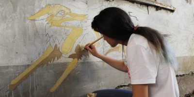 Граффити и Стрит-Арт Движение к свету