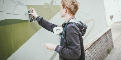 Граффити и Стрит-Арт Велосипед