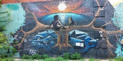 Граффити и Стрит-Арт Лукоморье
