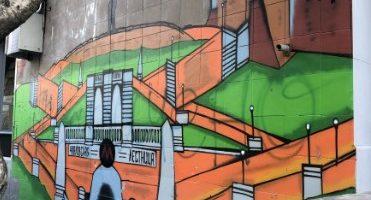 Граффити и Стрит-Арт Чкаловская лестница