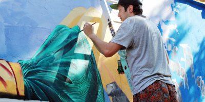 Граффити и Стрит-Арт Аврора создающая уют