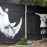 Граффити и Стрит-Арт Домино