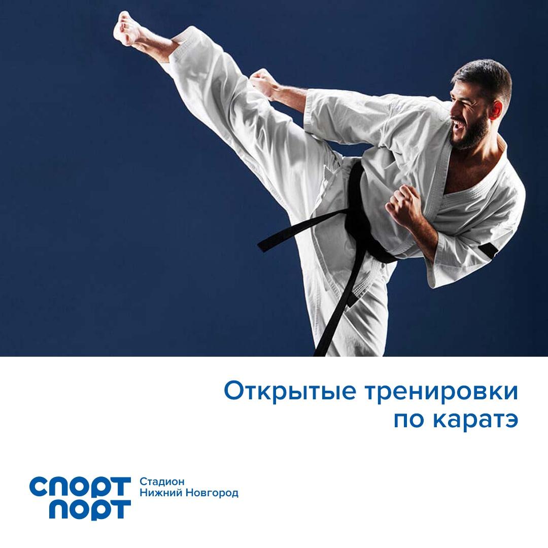 Открытые тренировки по каратэ годзю-рю