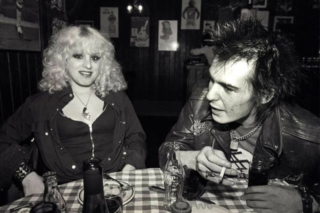 Photos of Nancy Spungen and Sid Vicious