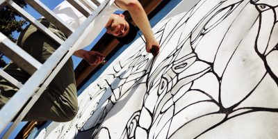 Граффити и Стрит-Арт Мотор