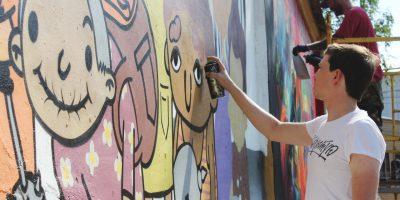 Граффити и Стрит-Арт Твоих рыцарей мамы