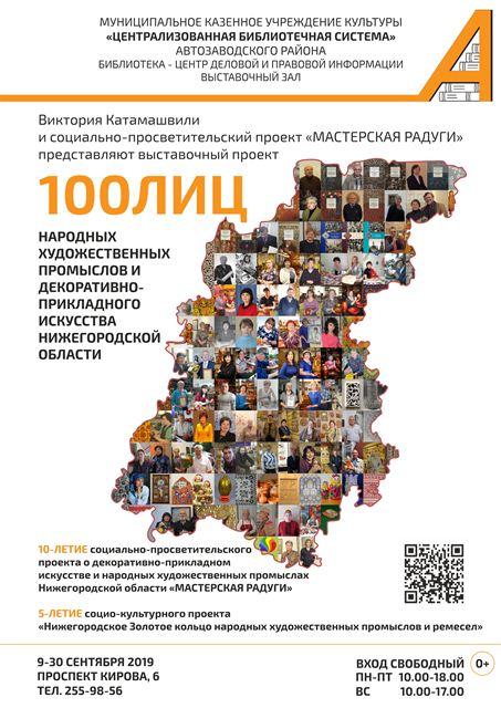 Выставка «100ЛИЦ…»