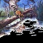Спектакль Крошка енот и тот, кто сидит в пруду