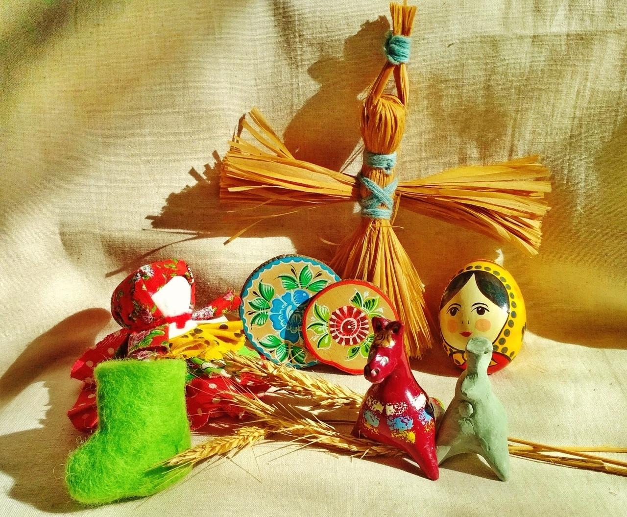 презентация детской программы Игры и игрушки крестьянских детей