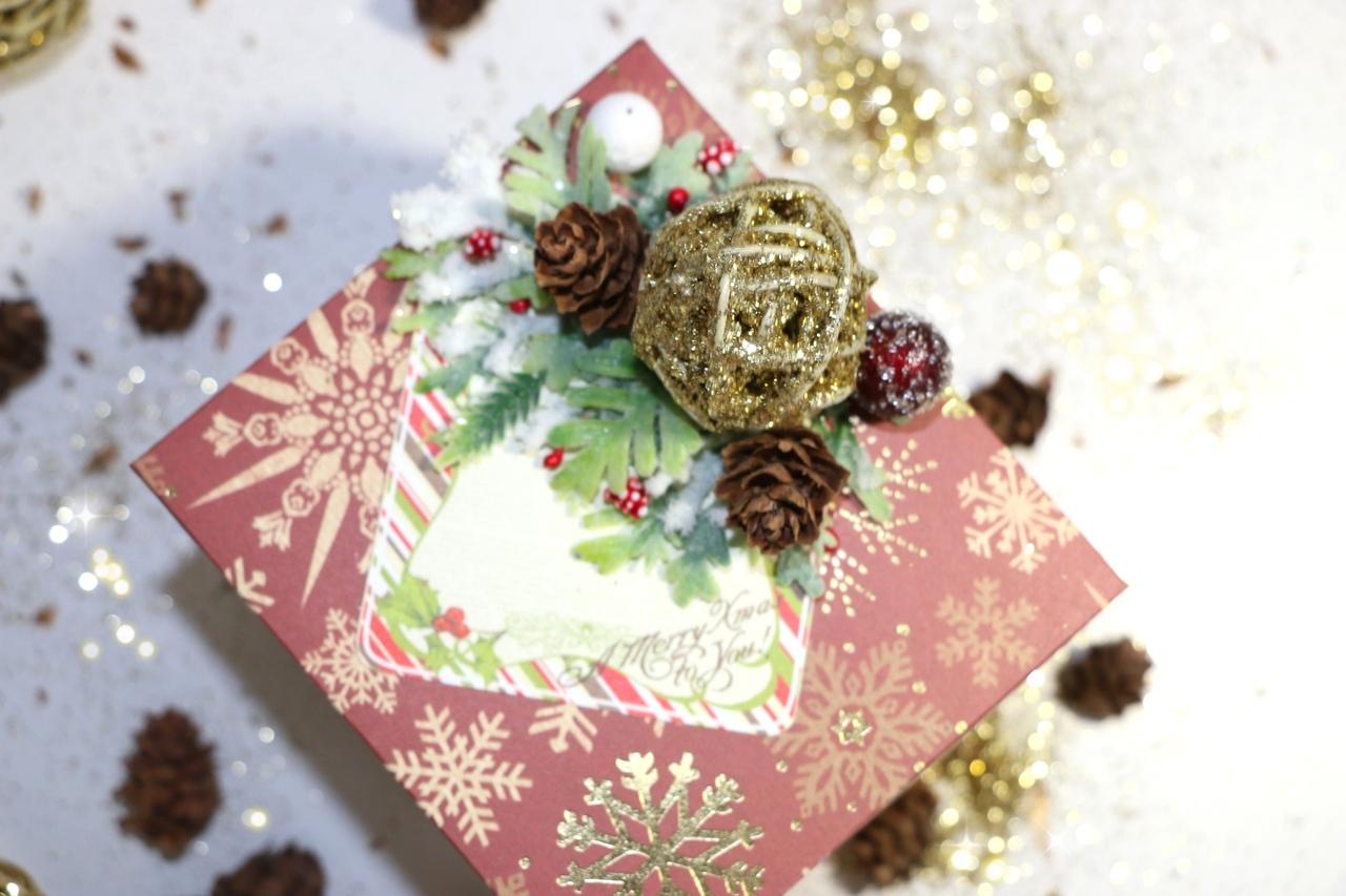 Мастер-класс по созданию новогодней открытки