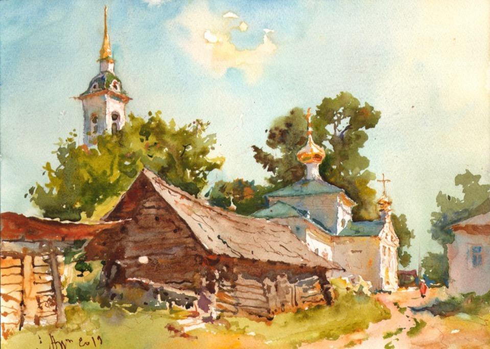 Выставка СЕРГЕЙ АЛДУШКИН АКВАРЕЛЬ