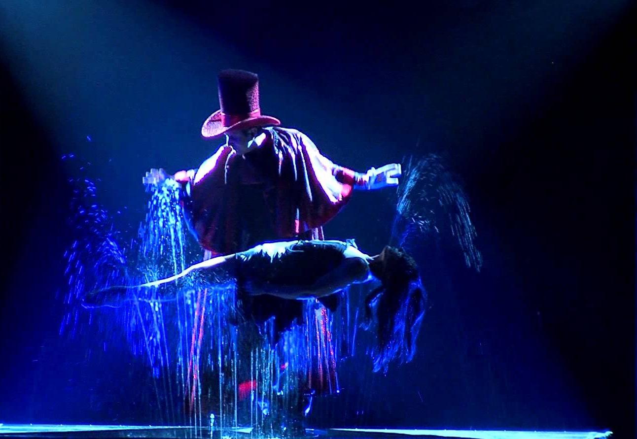 Цирк «Красавица и чудовище». Шоу магии, воды и света.