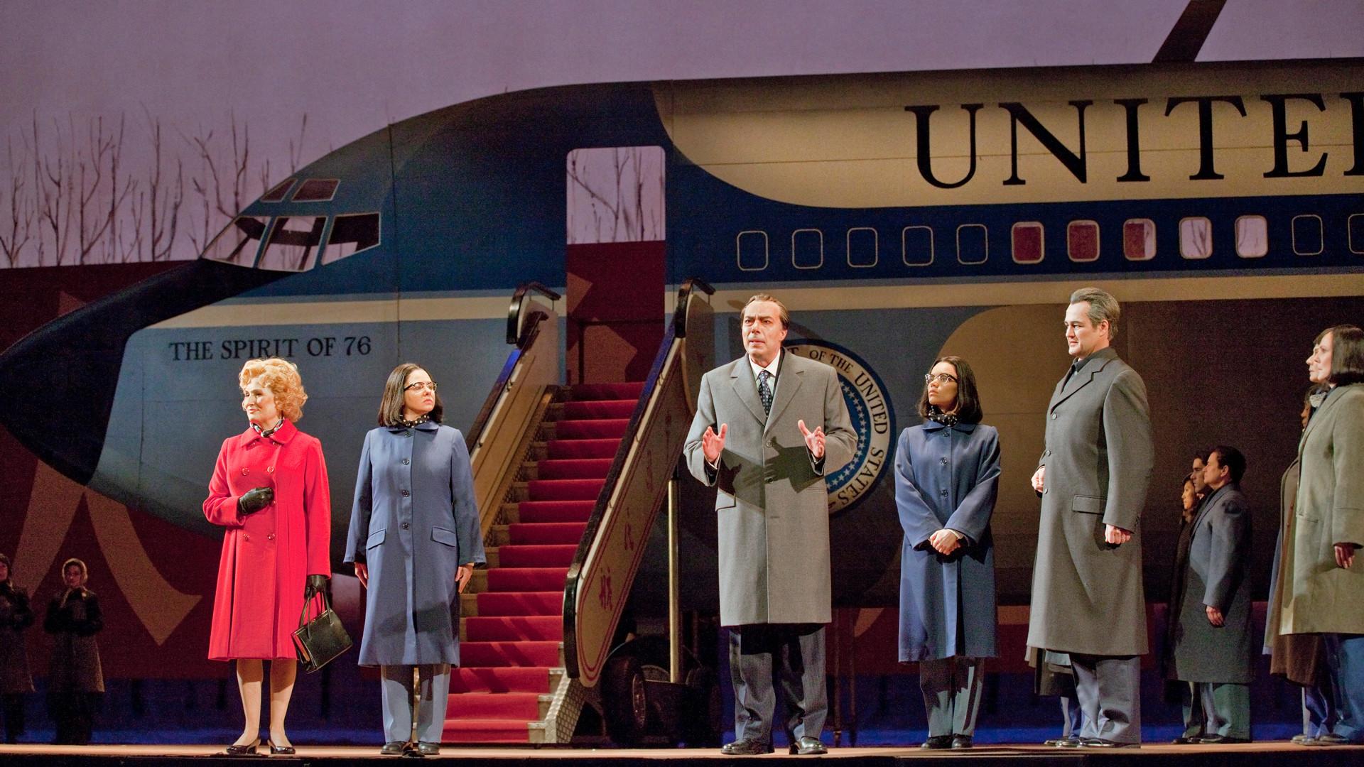 Онлайн опера Никсон в Китае