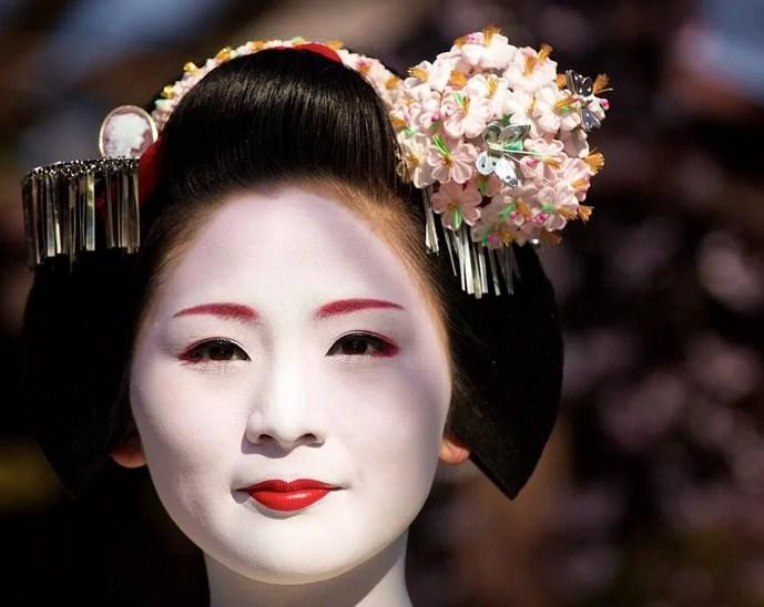Образ женской красоты в Японии