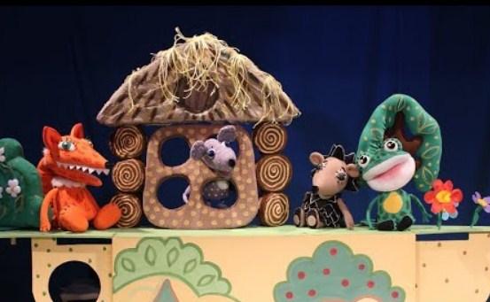 Онлайн Трансляция кукольного спектакля «Теремок»