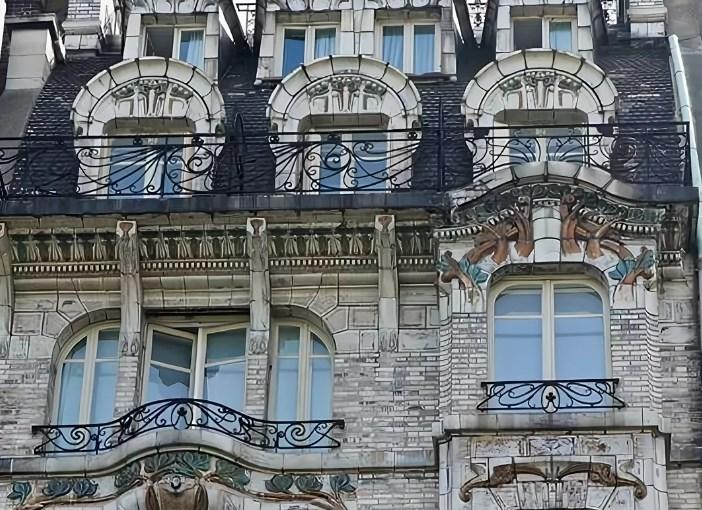 Лекция НГХМ о стиле модерн в архитектуре Парижа.