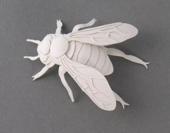 Мастер-класс панно «Насекомые: жуки и бабочки» из бумаги в технике «вырезанки».